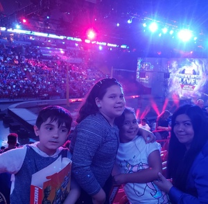 LESLIE attended Marvel Universe Live! on Jan 17th 2019 via VetTix