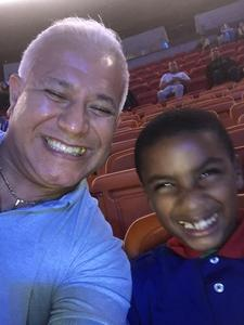 Carlos attended Marvel Universe Live! on Jan 17th 2019 via VetTix