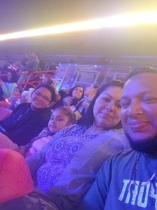 Alexander attended Marvel Universe Live! on Jan 17th 2019 via VetTix