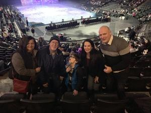 Eric attended Disney on Ice: Worlds of Enchantment on Jan 31st 2019 via VetTix