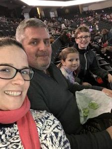 Joseph attended Disney on Ice: Worlds of Enchantment on Jan 31st 2019 via VetTix