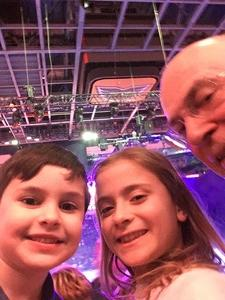 Phillip Emery attended Disney on Ice: Worlds of Enchantment on Jan 31st 2019 via VetTix