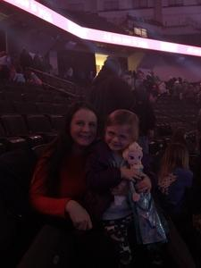 Justin attended Disney on Ice: Worlds of Enchantment on Jan 31st 2019 via VetTix