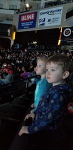 Tara attended Disney on Ice: Worlds of Enchantment on Jan 31st 2019 via VetTix