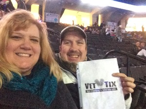 Tony attended Disney on Ice: Worlds of Enchantment on Jan 31st 2019 via VetTix