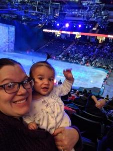 Kristi attended Disney on Ice: Worlds of Enchantment on Jan 31st 2019 via VetTix