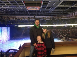 Michael attended Disney on Ice: Worlds of Enchantment on Jan 31st 2019 via VetTix