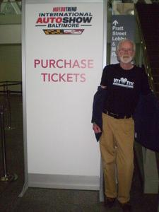 LeRoy attended Motor Trend Intl Auto Show Baltimore - Tickets Good for Any Day on Feb 7th 2019 via VetTix