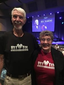 Dennis Ross attended Jack Wright - the Music of Neil Diamond on Jan 18th 2019 via VetTix