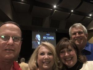 Richard attended Jack Wright - the Music of Neil Diamond on Jan 18th 2019 via VetTix