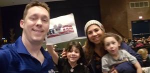 Brandon attended Disney's the Jungle Book Kids on Jan 24th 2019 via VetTix