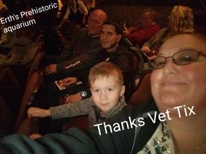 George attended Erth's Prehistoric Aquarium Adventure - Matinee Show on Jan 20th 2019 via VetTix