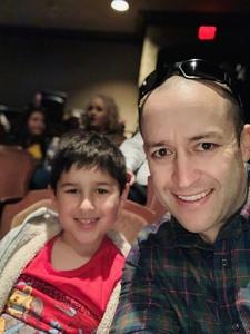 Nicholas attended Erth's Prehistoric Aquarium Adventure - Matinee Show on Jan 20th 2019 via VetTix