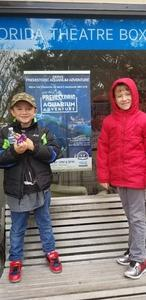 Heather attended Erth's Prehistoric Aquarium Adventure - Matinee Show on Jan 20th 2019 via VetTix