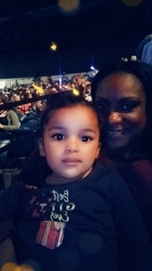 Kashina attended Disney on Ice Presents: Dare to Dream on Feb 7th 2019 via VetTix