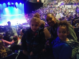 BREONA attended Disney on Ice Presents: Dare to Dream on Feb 7th 2019 via VetTix