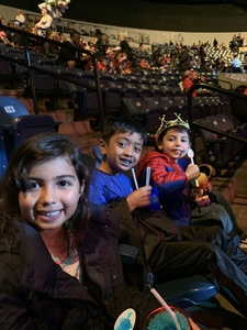 Liliana attended Disney on Ice Presents: Dare to Dream on Feb 7th 2019 via VetTix
