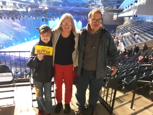 William attended Disney on Ice Presents: Dare to Dream on Feb 7th 2019 via VetTix