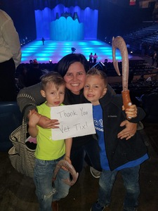 Desiree attended Disney on Ice Presents: Dare to Dream on Feb 7th 2019 via VetTix