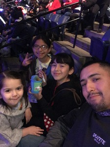 Christopher attended Disney on Ice Presents: Dare to Dream on Feb 7th 2019 via VetTix