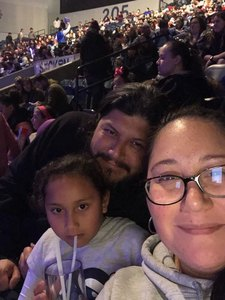 Ranses attended Disney on Ice Presents: Dare to Dream on Feb 7th 2019 via VetTix