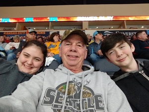 Jerome attended Kansas City Mavericks vs. South Carolina Stingrays - ECHL on Feb 1st 2019 via VetTix