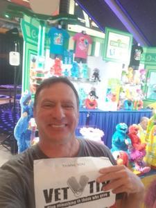 Scotty attended Sesame Street Live! Let's Party! - Children's Theatre on Feb 24th 2019 via VetTix