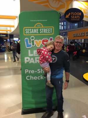 Charles Kimberly attended Sesame Street Live! Let's Party! - Children's Theatre on Feb 24th 2019 via VetTix