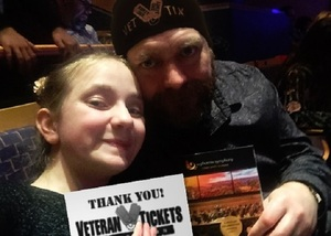 Eddie attended Cirque Swan Lake on Jan 18th 2019 via VetTix