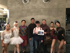 Douglas attended Cirque Swan Lake on Jan 20th 2019 via VetTix