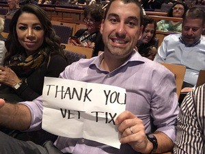 Martin attended Cirque Swan Lake on Jan 20th 2019 via VetTix