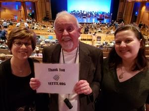 Jack attended Cirque Swan Lake on Jan 20th 2019 via VetTix
