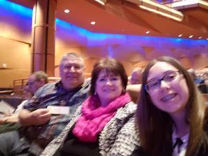 Eddie attended Cirque Swan Lake on Jan 20th 2019 via VetTix