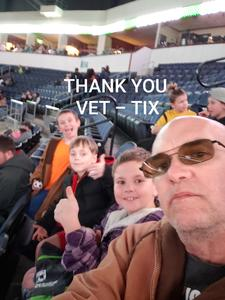 John attended Dallas Sidekicks vs. Rgv Barracudas - MASL on Jan 26th 2019 via VetTix