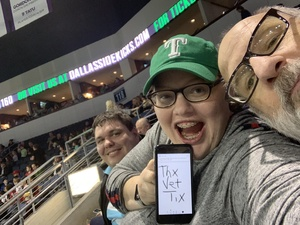 HappyVet attended Dallas Sidekicks vs. Rgv Barracudas - MASL on Jan 26th 2019 via VetTix