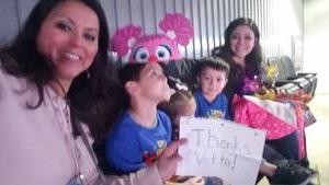 Daniel attended Sesame Street Live! Let's Party! on Feb 16th 2019 via VetTix