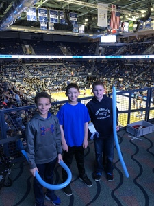 Nicholas attended University of Rhode Island vs. Fordham - NCAA Men's Basketball on Feb 16th 2019 via VetTix