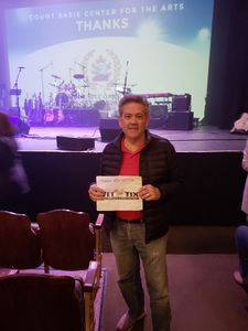 Evelio attended Best of the Eagles on Feb 16th 2019 via VetTix