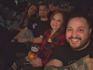 D'Ann attended Disturbed: Evolution World Tour - Heavy Metal on Jan 26th 2019 via VetTix