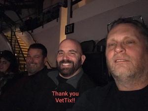 THOMAS attended Disturbed: Evolution World Tour - Heavy Metal on Jan 26th 2019 via VetTix