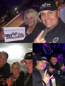 Brian attended Disturbed: Evolution World Tour - Heavy Metal on Jan 26th 2019 via VetTix