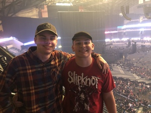Nicholas attended Disturbed: Evolution World Tour - Heavy Metal on Jan 26th 2019 via VetTix