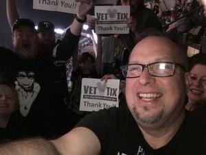Robert attended Disturbed: Evolution World Tour - Heavy Metal on Jan 26th 2019 via VetTix