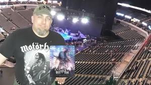 Kane attended Disturbed: Evolution World Tour - Heavy Metal on Jan 26th 2019 via VetTix