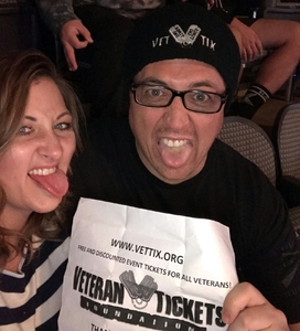 KEN attended Disturbed: Evolution World Tour - Heavy Metal on Jan 26th 2019 via VetTix