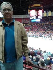 Gale attended ASU Sun Devils vs. Washington - NCAA Men's Basketball on Feb 9th 2019 via VetTix