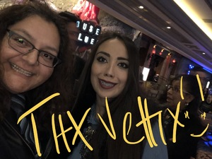 Romona attended Concierto Del Amor - Tributo a Vicente Fernandez Con Ivan Estrella - Latin on Feb 16th 2019 via VetTix