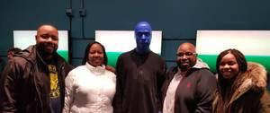 Robert attended Blue Man Group Chicago on Feb 7th 2019 via VetTix