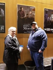 Antonio attended Tuesdays with Morrie on Jan 23rd 2019 via VetTix