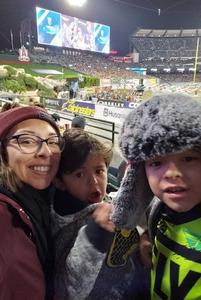Melissa attended Monster Energy Superscross on Jan 19th 2019 via VetTix